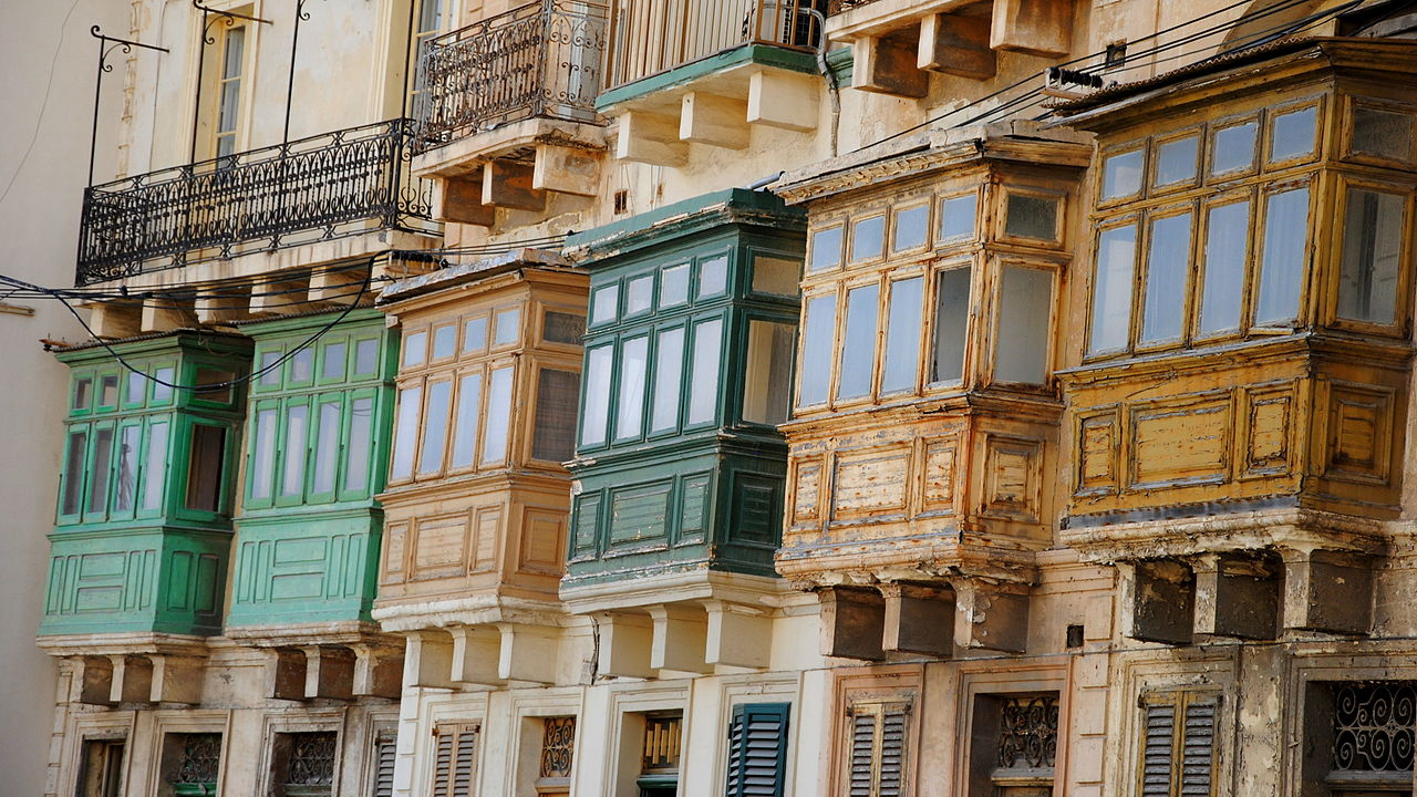 A Brief History of Traditional Maltese Balconies